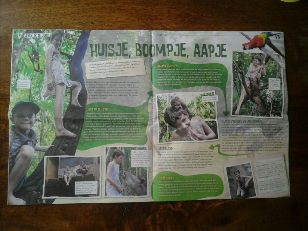 KidsWeek - Huisje boompje aapje
